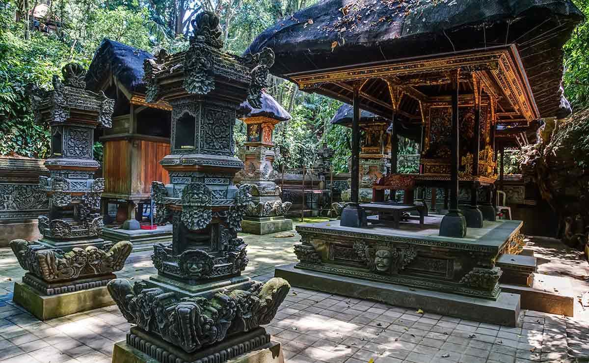 Monkey Forest en Ubud