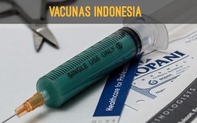 vacunas indonesia
